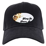 FIN-hang-in-there-10x10.png Black Cap with Patch