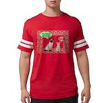 Christmas Cat Gifts Mens Football Shirt