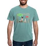 Christmas Cat Gifts Mens Comfort Colors® Shir