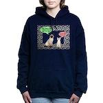 Christmas Cat Gifts Women's Hooded Sweatshirt