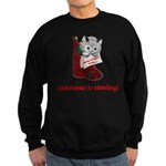 FIN-hang-in-there-xmax-10x10 Sweatshirt (dark)