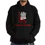 FIN-hang-in-there-xmax-10x10 Hoodie (dark)