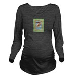 FIN-hang-in-there-baby-greeting Long Sleeve Matern