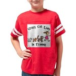 Crazy Cat Lady Trainee Youth Football Shirt