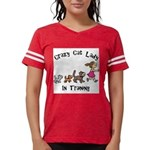 Crazy Cat Lady Trainee Womens Football Shirt