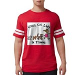 Crazy Cat Lady Trainee Mens Football Shirt