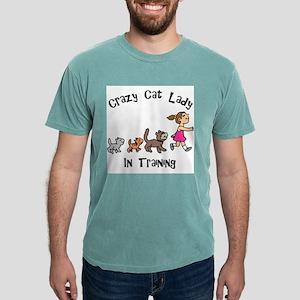 Crazy Cat Lady Trainee Mens Comfort Colors® Shirt