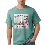 Crazy Cat Lady Trainee Mens Comfort Colors® Shirt