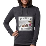 Crazy Cat Lady Trainee Womens Hooded Shirt