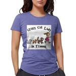 Crazy Cat Lady Trainee Womens Tri-blend T-Shirt