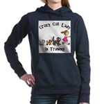 Crazy Cat Lady Trainee Women's Hooded Sweatshirt