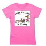 Crazy Cat Lady Trainee Girl's Tee
