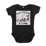Crazy Cat Lady Trainee Baby Bodysuit