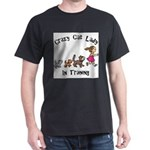 Crazy Cat Lady Trainee Dark T-Shirt