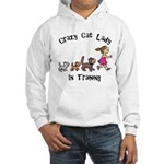 Crazy Cat Lady Trainee Hooded Sweatshirt