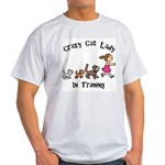 Crazy Cat Lady Trainee Light T-Shirt