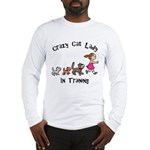 Crazy Cat Lady Trainee Long Sleeve T-Shirt