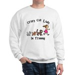 Crazy Cat Lady Trainee Sweatshirt