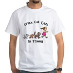 Crazy Cat Lady Trainee Men's Classic T-Shirts