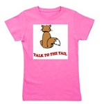 cat-talk-to-the-tail Girl's Tee
