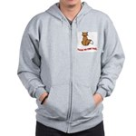 cat-talk-to-the-tail Zip Hoodie