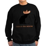 FIN-cinco-de-meow Sweatshirt (dark)