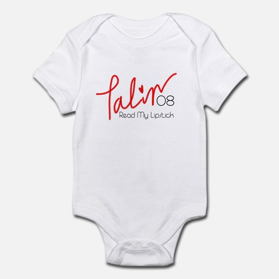 Read My Lipstick - Sarah Pali Infant Bodysuit