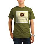 cats-diary Organic Men's T-Shirt (dark)