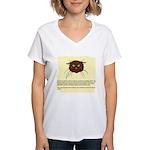 cats-diary Women's V-Neck T-Shirt
