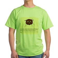 cats-diary Green T-Shirt