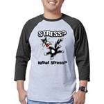 FIN-stress-cat... Mens Baseball Tee
