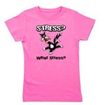 FIN-stress-cat... Girl's Tee