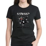 FIN-stress-cat... Women's Classic T-Shirt