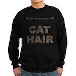 FIN-cat-hair-access... Sweatshirt (dark)