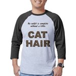 FIN-outfit-cat-hair... Mens Baseball Tee