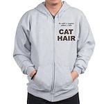 FIN-outfit-cat-hair... Zip Hoodie