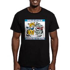 FIN-friends-relatives Men's Fitted T-Shirt (dark)