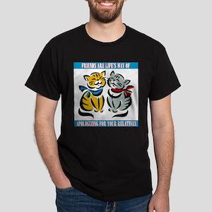 FIN-friends-relatives Dark T-Shirt