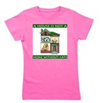 FIN-cats-house-home Girl's Tee
