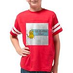 Cat Spoken Here Youth Football Shirt