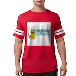 Cat Spoken Here Mens Football Shirt