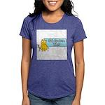 Cat Spoken Here Womens Tri-blend T-Shirt
