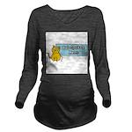 Cat Spoken Here Long Sleeve Maternity T-Shirt