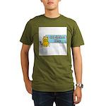 Cat Spoken Here Organic Men's T-Shirt (dark)