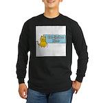 Cat Spoken Here Long Sleeve Dark T-Shirt