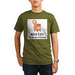 When I Die Organic Men's T-Shirt (dark)
