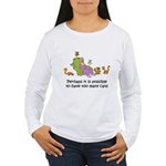 too-many-cats Women's Long Sleeve T-Shirt