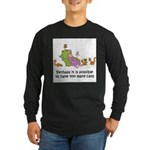 too-many-cats Long Sleeve Dark T-Shirt