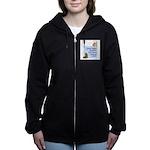 cats-support-staff Women's Zip Hoodie