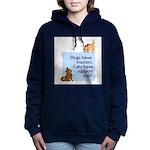 cats-support-staff Women's Hooded Sweatshirt